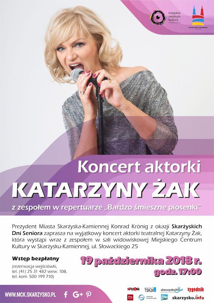 Katarzyna Żak z zespołem – koncert – MCK – 19.10.2018