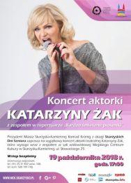 Katarzyna Żak z zespołem – koncert