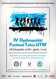 IV Ogólnopolski Festiwal Tańca UTW