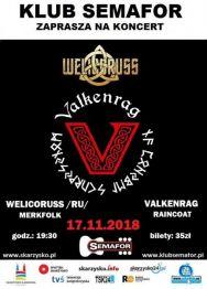Welicoruss + Valkenrag – koncert