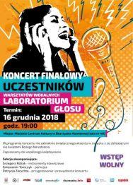 Koncert Finałowy uczestników warsztatów wokalnych