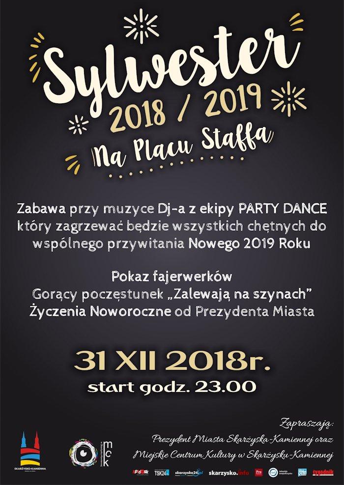 SYLWESTER 2018/2019 na Placu Staffa – 31.12.2018