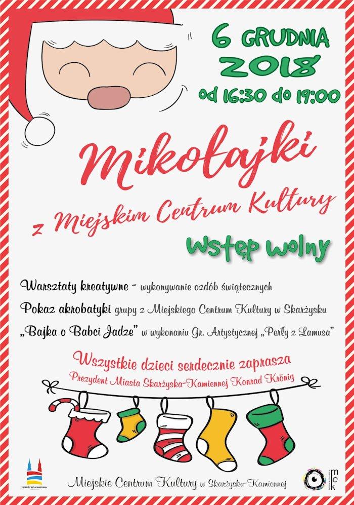 Mikołaki z Miejskim Centrum Kultury – MCK – 06.12.2018