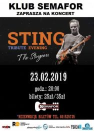 Sting Tribute Show – The Stingears – koncert