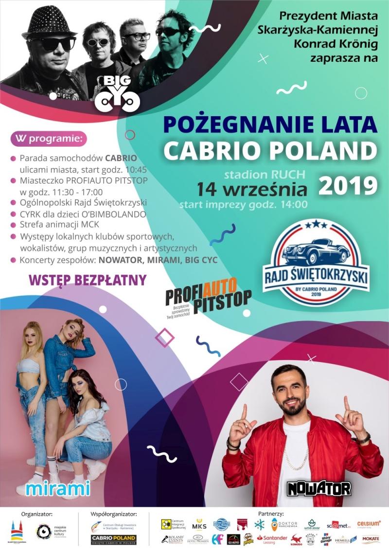 Pożegnanie Lata - Cabrio Poland 2019 – 14.09.2019