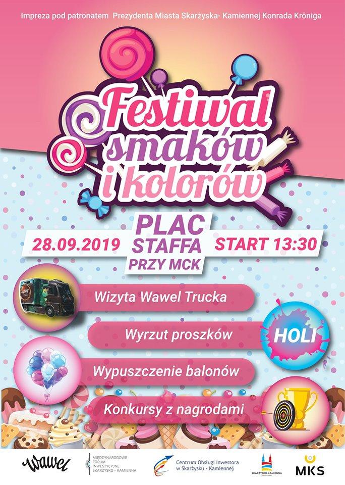 Festiwalu Smaków i Kolorów – Plac Staffa – 28.09.2019