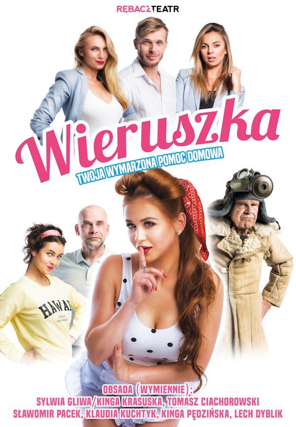 Wieruszka, Twoja wymarzona pomoc domowa – spektakl – MCK – 20.03.2020