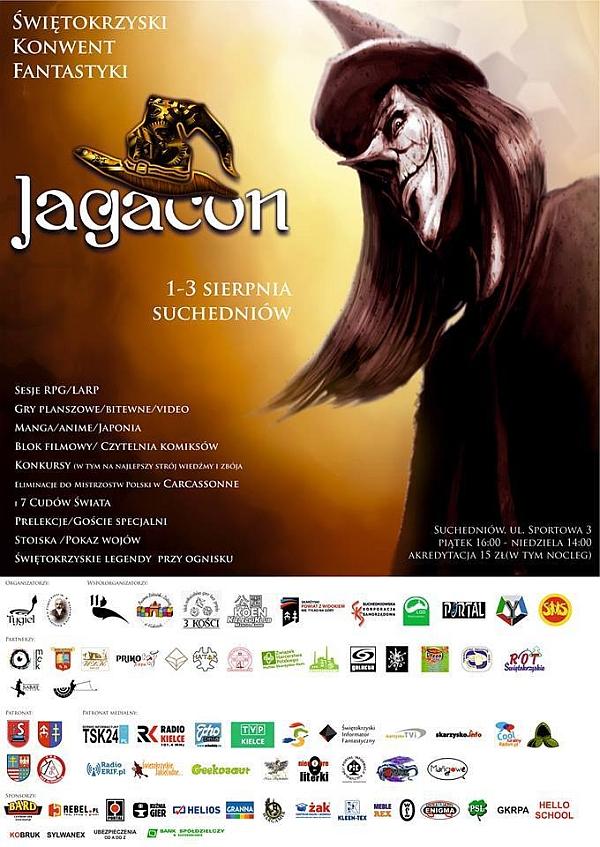 Jagacon – II Świętokrzyski Konwent Fantastyki – Suchedniów – 01-03.08.2014