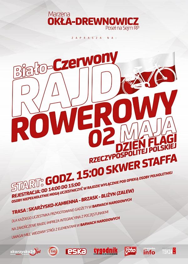 Biało-Czerwony-Rajd-Rowerowy 02.05.2014
