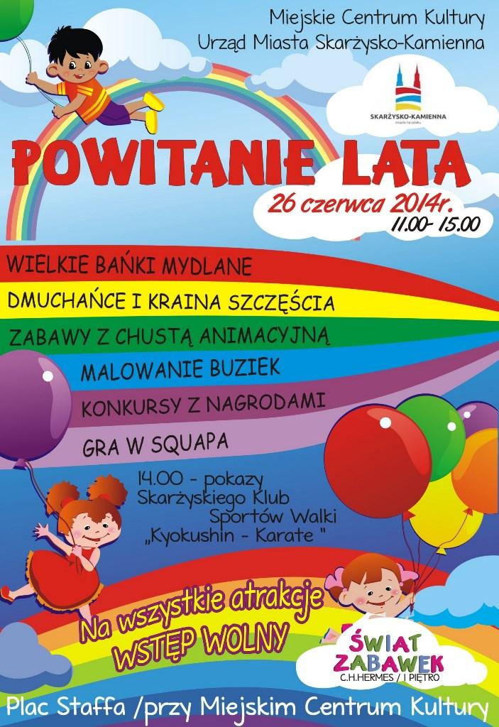 Powitanie lata 2014 - Plac Staffa - 26.06.2014 r.