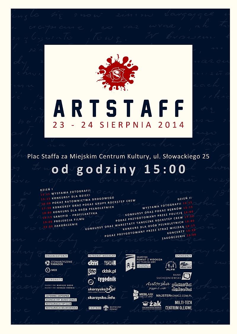 Artstaff - Plac Staffa - 23-24.08.2014 r.