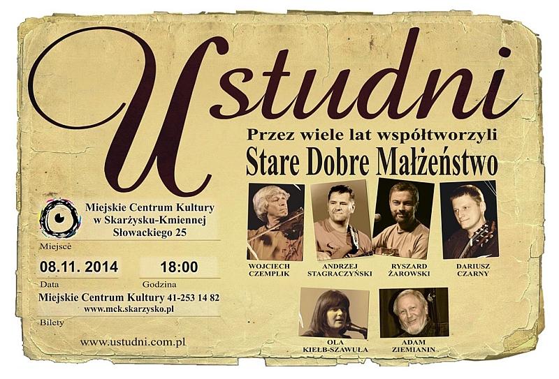 """""""U Studni"""" – koncert – MCK – 08.11.2014 r."""