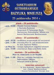 IV Światowy Zjazd Skarżyszczan i Dobrodziejów Sanktuarium Matki Bożej Ostrobramskiej