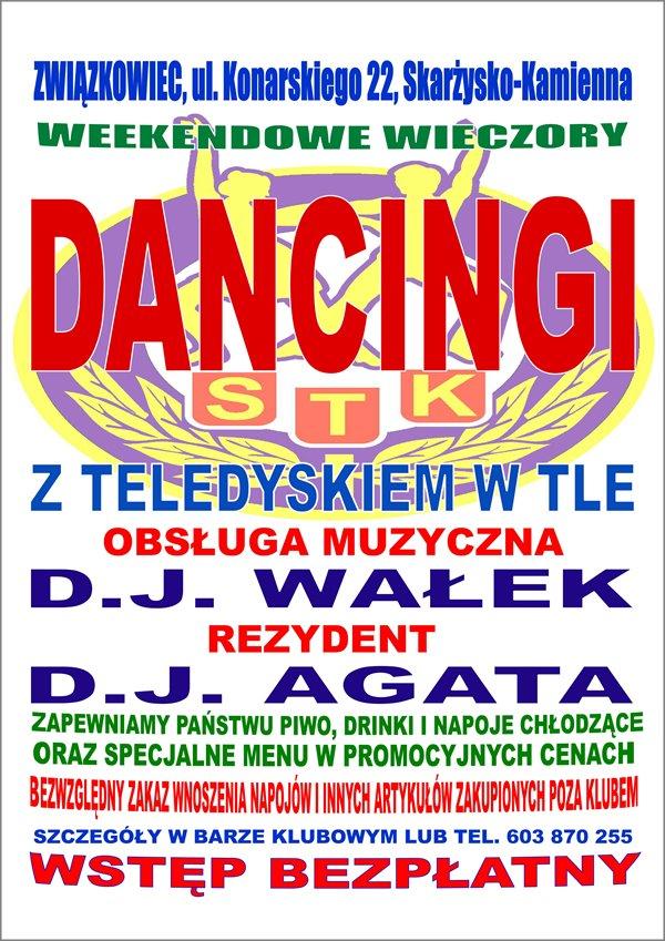 Dancingi z teledyskiem w tle – Klub Kolejarza Związkowiec