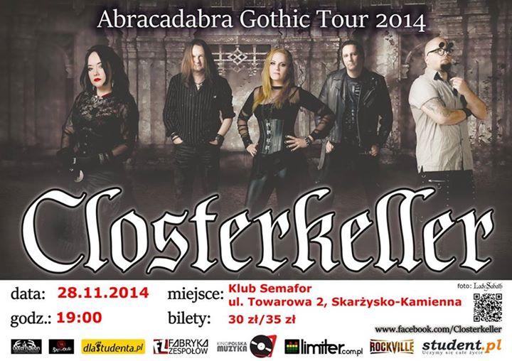 Closterkeller - Klub Semafor - 28.11.2014 r.