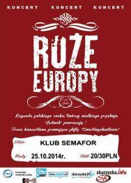 Róże Europy – koncert