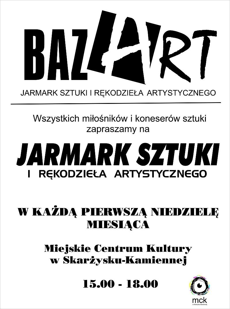 BAZART – Jarmark Sztuki i Rękodzieła Artystycznego – MCK – 02.11.2014 r.