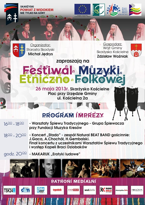 Festiwal Muzyki Etniczno-Folkowej – Skarżysko Kościelne