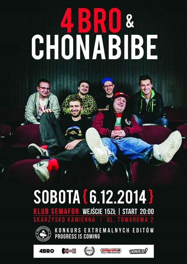4Bro & Chonabibe @ Semafor - Klub Semafor - 6.12.2014 r.
