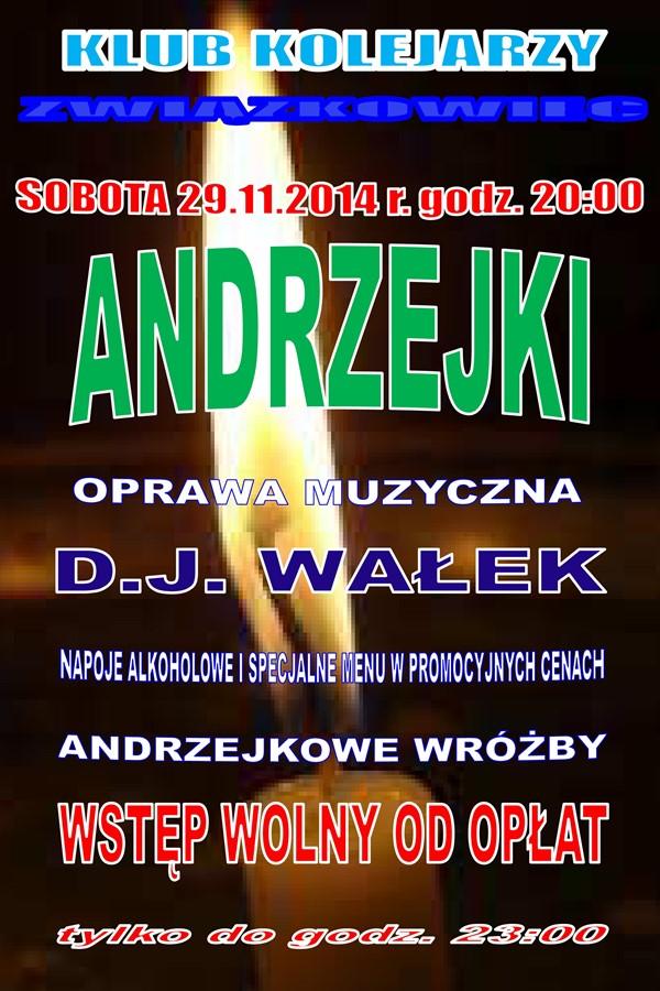 Andrzejki - Związkowiec