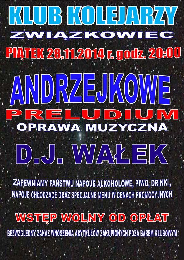 Andrzejkowe preludium - Związkowiec