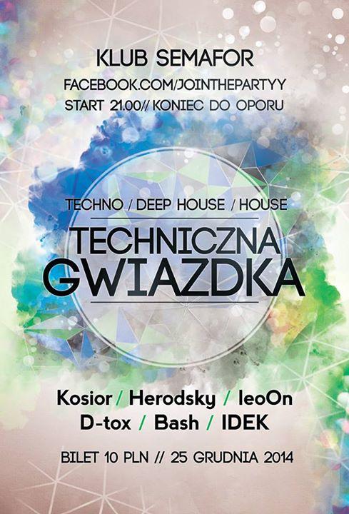 Techniczna Gwiazdka - Klub Semafor - 25.12.2014 r.