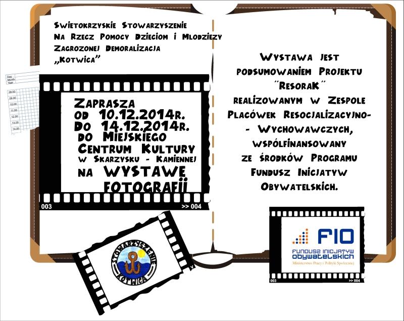 Wystawa fotografii - MCK - 10-14.12.2014 r.