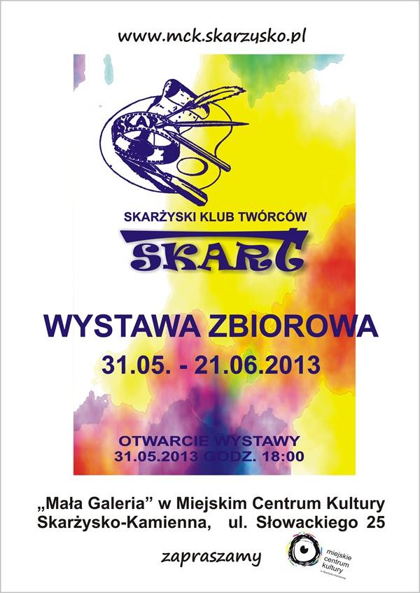 Skarżyski Klub Twórców SKART – wystawa – MCK
